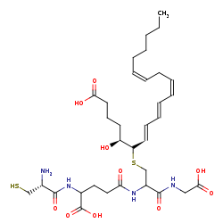 Picture of cysteinyl-leukotriene (click for magnification)