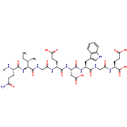 Picture of [LysW]-C-terminal-L-glutamate (click for magnification)