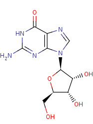 Picture of guanosine (click for magnification)