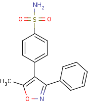 Picture of valdecoxib (click for magnification)