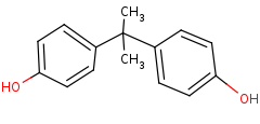 Picture of bisphenol A (click for magnification)