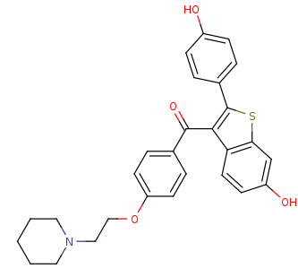 Picture of raloxifene (click for magnification)
