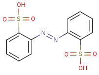 Picture of 2,2'-disulfonyl azobenzene (click for magnification)