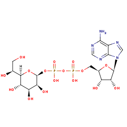 Picture of ADP-L-glycero-beta-D-manno-heptose (click for magnification)