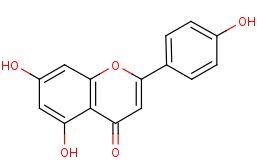 Picture of apigenin (click for magnification)