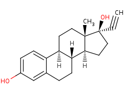 Picture of 17alpha-ethynylestradiol (click for magnification)