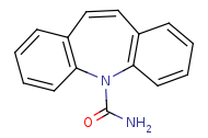 Picture of carbamazepine (click for magnification)
