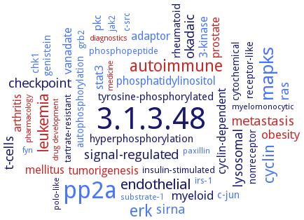 BRENDA - Information on EC 3 1 3 48 - protein-tyrosine