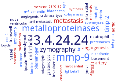 BRENDA - Information on EC 3 4 24 24 - gelatinase A and
