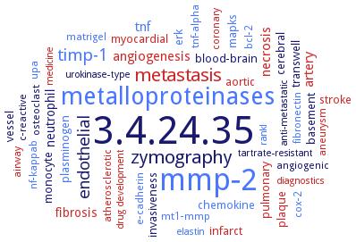 BRENDA - Information on EC 3 4 24 35 - gelatinase B